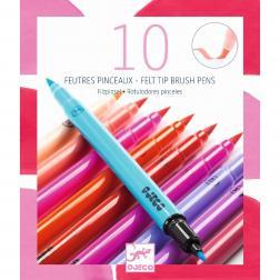10 Feutres Pinceaux Djeco - Sweet