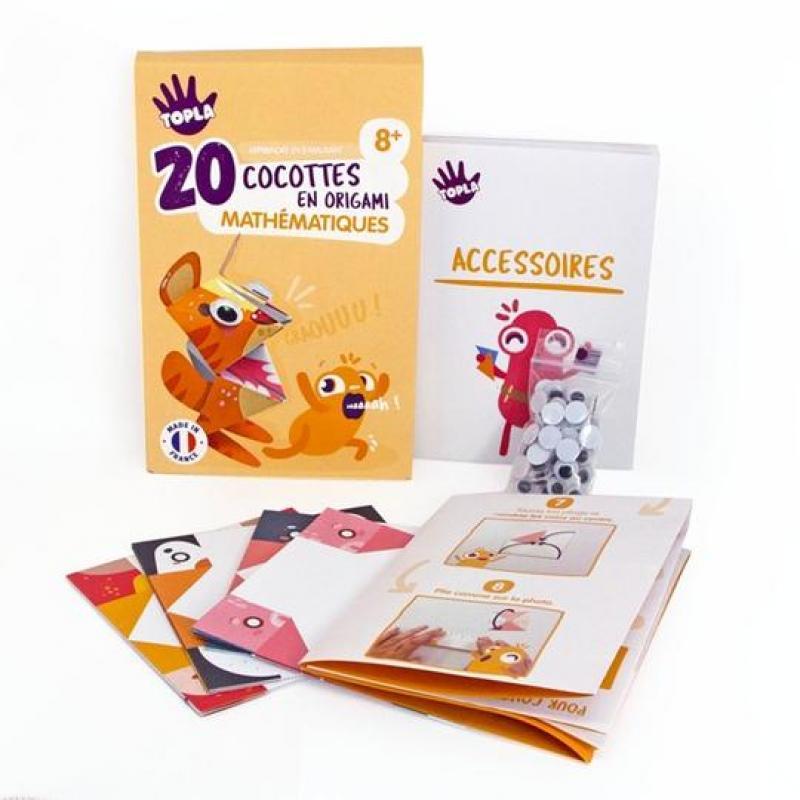 120 cocottes en origami