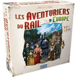 Aventuriers du Rail : Europe 15 ans