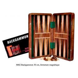 Backgammon palissandre 30 cm