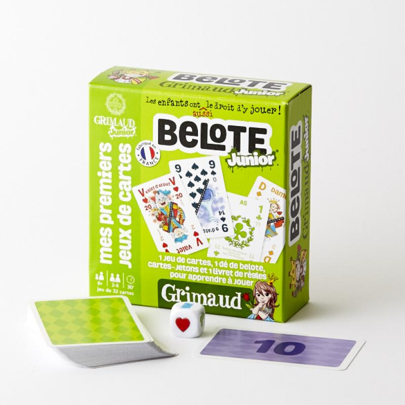 0Belote Junior - 32 cartes