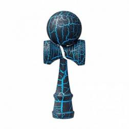 Bilboquet - Kendama Crackle - Bleu (boule 6 cm)