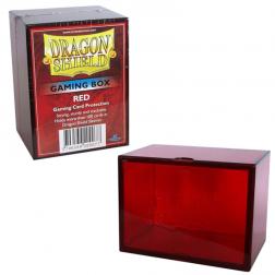 Boite rangement cartes - Dragon Shield Red
