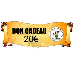 Bon d'achat - Carte cadeaux de 20€