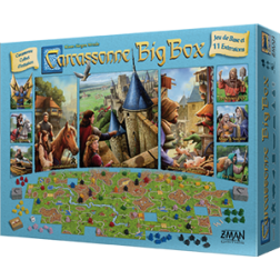 Carcassonne - Big Box 2017 (jeu + 11 extensions)