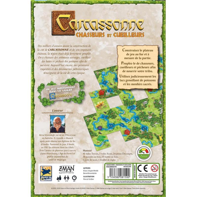 2Carcassonne - Chasseurs et Cueilleurs
