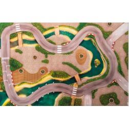 Carpeto - Tapis petit modèle : Circuit Urbain (90x60 cm)