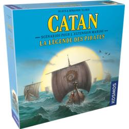 Catan - Marins - ext. Légende des Pirates (scénarios)