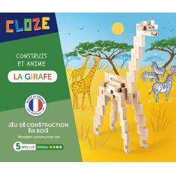 Cloze - Construit et Anime : La Girafe