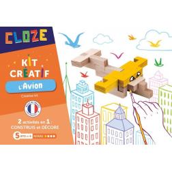 Cloze - Kit créatif : L'Avion