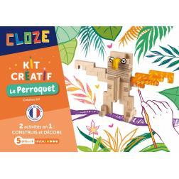 Cloze - Kit créatif : Le Perroquet