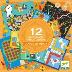 Coffret 12 jeux - Classic Box 4+