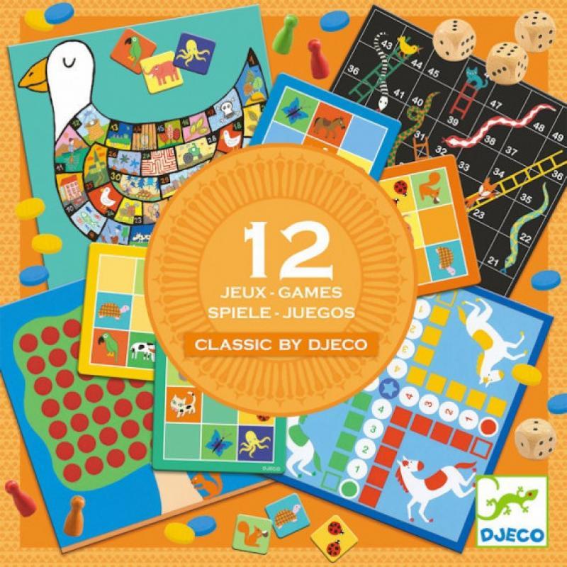0Coffret 12 jeux - Classic Box