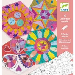 Coloriages surprises - Mandalas constellations