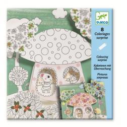 Coloriages surprises - Poucette