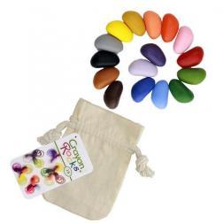 Crayon Rocks - 16 Crayons de cire végétales