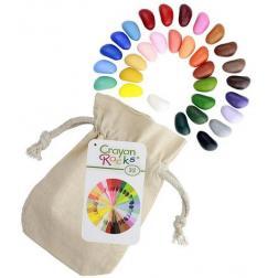 Crayon Rocks - 32 Crayons de cire végétales