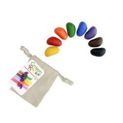 Crayon Rocks - 8 Crayons de cire végétales