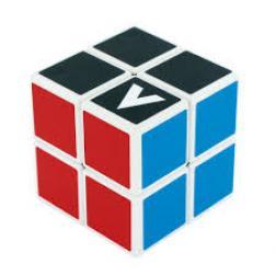 Cube - 2x2x2 - VCube bombé - Blanc