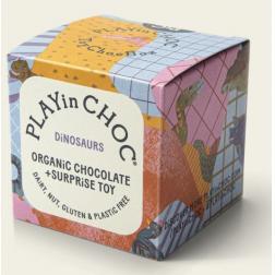 Cube Surprise Dinosaure : Puzzle 3D + Chocolat