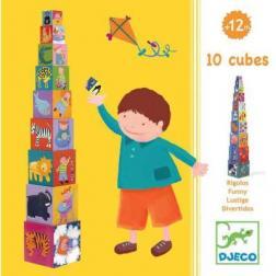 Cubes - Rigolos (10 Cubes)