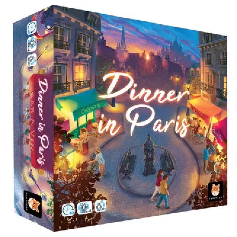 0Dinner in Paris