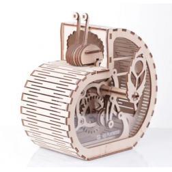 Escargot- Tirelire - Maquette 3D mobile en bois