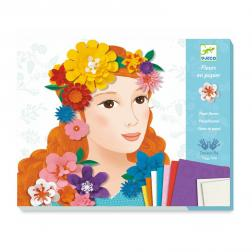 Fleurs en papier - Jeunes filles en fleurs