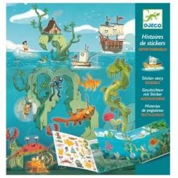 Histoire de Stickers - Les Aventures en Mer