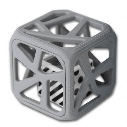 Hochet Cube De Dentition - Gris