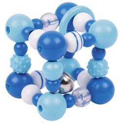 Hochet - Elastique Dé Bleu