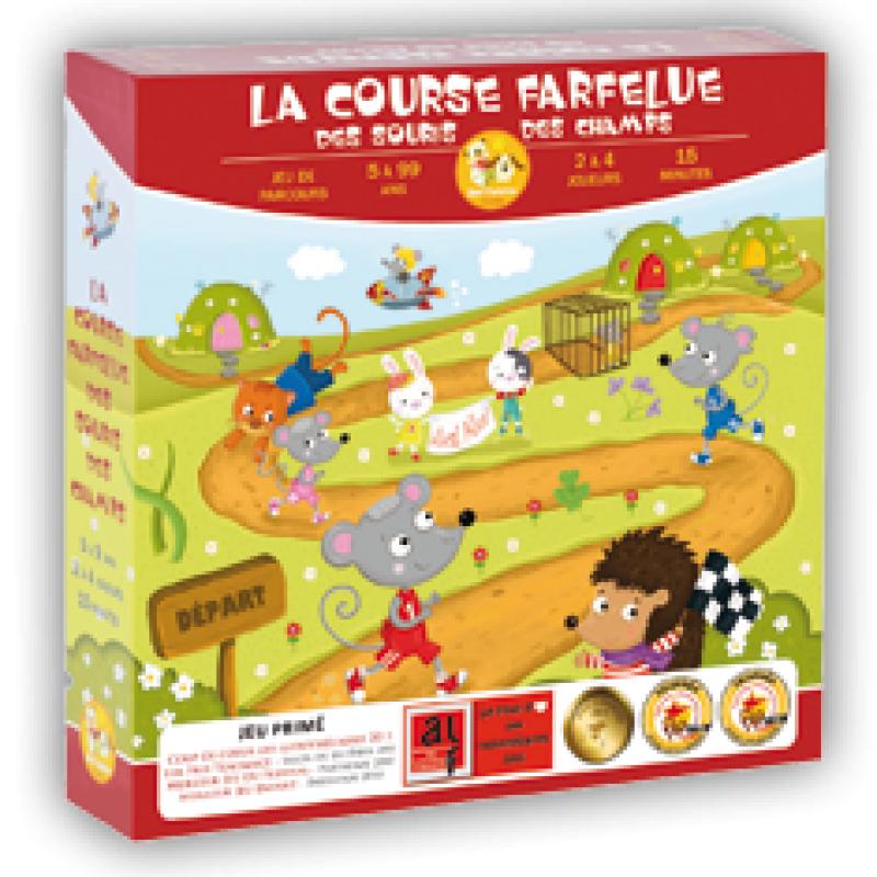 0La Course Farfelue des Souris des Champs