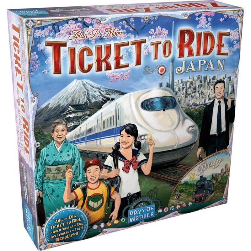 0Les Aventuriers du Rail - ext. Japon / Italie