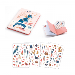 Lucille - Carnet Stickers