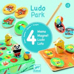 Ludo Park - 4 Jeux en 1