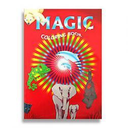 Magie - Livre à colorier - Pages blanche - Grand modèle (Coloring book)