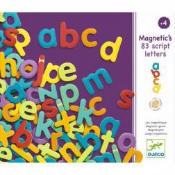 Magnetic's - 83 Lettres minuscules magnétiques en bois