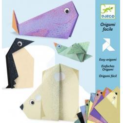Origami facile - Les animaux polaires