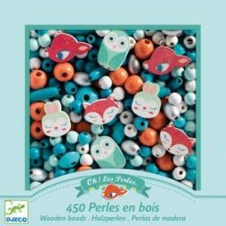 Perles bois - Petits animaux
