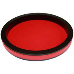 Piste Dés classique 24cm rouge