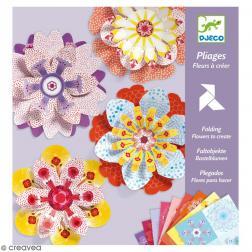 Pliages - Fleurs à créer