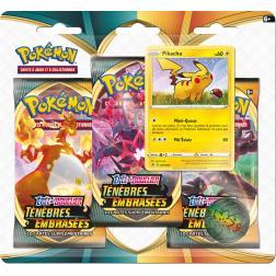 Pokémon EB03 : Ténèbres Embrasées - Pack 3 boosters