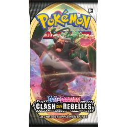 Pokémon Épée et Bouclier 02 : Clash des Rebelles - Booster