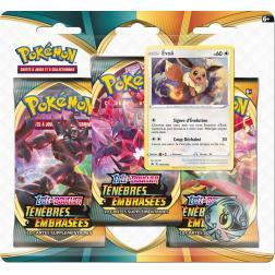 Pokémon Épée et Bouclier - Ténèbres Embrasées - Pack 3 Boosters