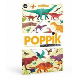 Poster en stickers - Dinosaures