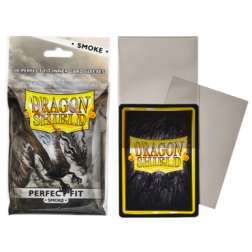 Protège cartes - Dragon Shield - Perfect Fit - Clear/Smoke - 63x88mm
