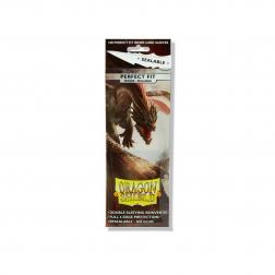 Protège cartes - Dragon Shield - Perfect Fit - Smoke Sealable : Yarost - 63x88mm