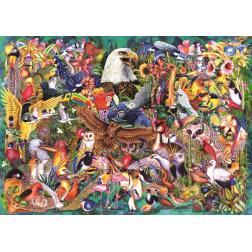 Puzzle 1000 - Règne animal