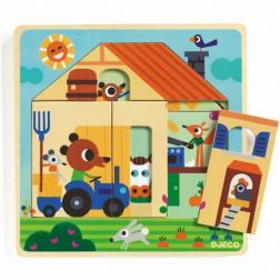 Puzzle Bois 3 Niveaux - Chez Gaby