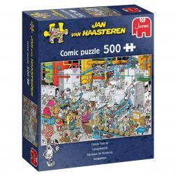 Puzzle - Candy Factory (500 pcs)